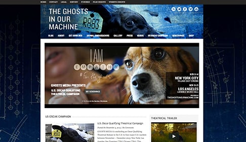 Ghosts_website_screenshot