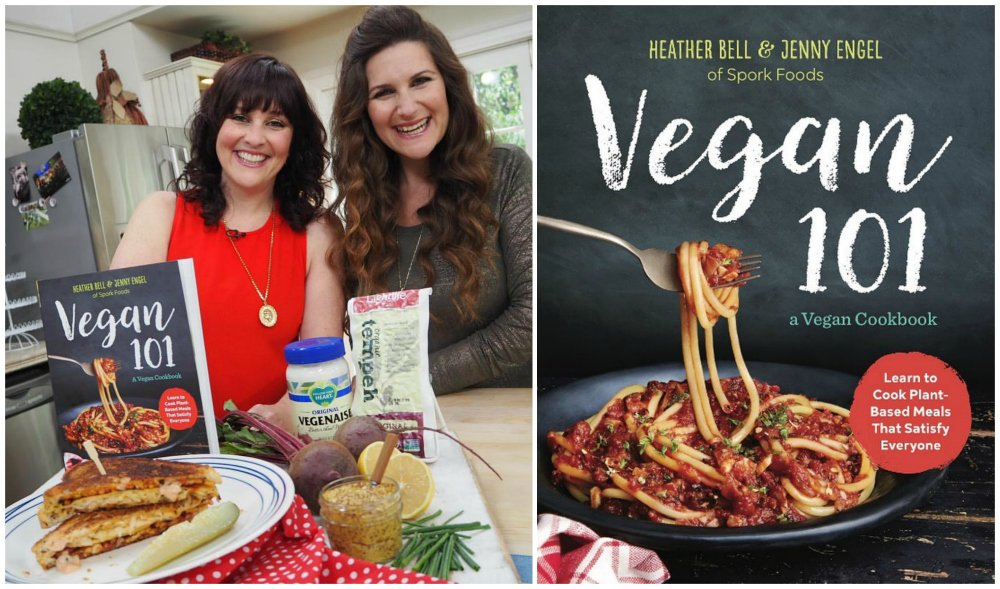 New vegan cookbook by Spork Foods sisters